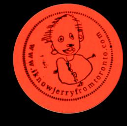 Sticker I know Jerry from Toronto