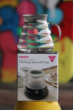 V60, Hario, Glass server