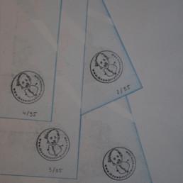 Detail risograph Emmeline Geiregat