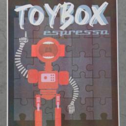 Risograph toybox Kay