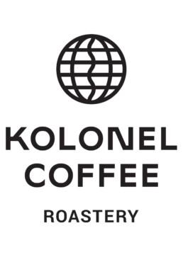 logo kolonel coffee roastery