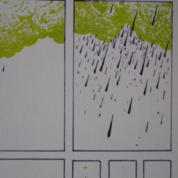 detail risograph Gerard Leysen